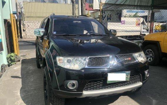 Black Mitsubishi Montero 2012 for sale in Makati