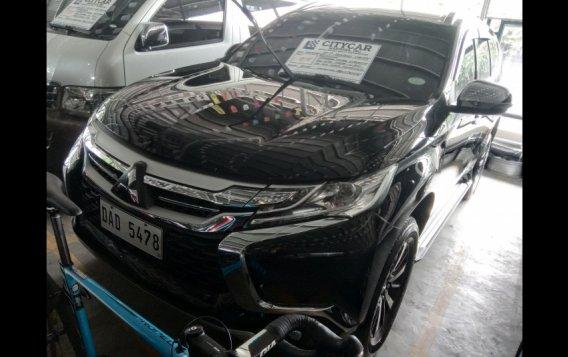 Black Mitsubishi Montero Sport 2017 SUV at 38000 for sale