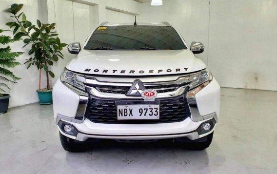 Sell Pearl White 2017 Mitsubishi Montero in Quezon City